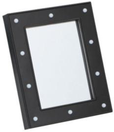 spiegel led 23,5 x 18,7 cm zwart