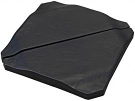 parasoltegel 50 x 50 cm 25 kg leisteen zwart