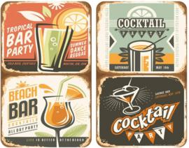 afdekplaat Universele Cocktail 30 x 52 cm 2 stuks