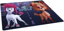 placemat 100% Wolf 41,5 cm paars