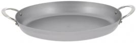 braadpan Mineral B 36 cm staal zilver