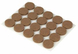 meubeldop 1,7 vilt bruin 20 stuks