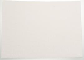Knipvilt zelfklevend 290mm x 210 mm wit 1 stuk