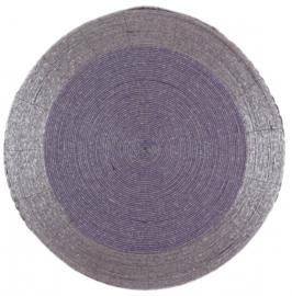placemat 36 cm licht paars