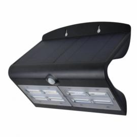 wandlamp Capella 22,1 x 10,9 x 27 cm zwart