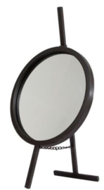 spiegel Lauren 53,3 x 29,8 cm staal zwart