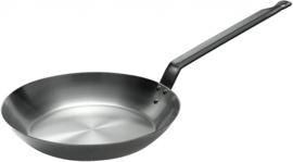koekenpan Lyonnaise 26 cm staal zilver