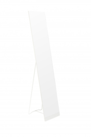 spiegel Stand 30,5 x 147,5 cm staal wit