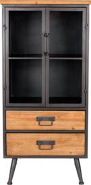 kast Damian Low 109 x 52 x 40 cm hout/metaal