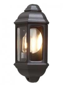 wandlamp Cagliari 100W 230V 36 cm aluminium zwart