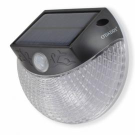 wandlamp Secunda 13 x 11 x 6 cm aluminium zwart