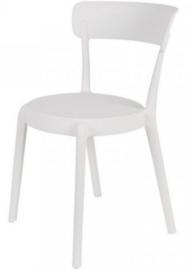 stoel Hoppe 79 x 51 x 49 cm polypropyleen wit