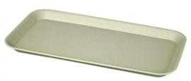 dienblad 30 x 16,3 cm bamboe grijs