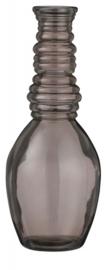 vaas Granada 30 x 12 cm glas lichtbruin