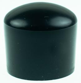 Meubeldop ronde poot ø32mm kunststof zwart 4stuks