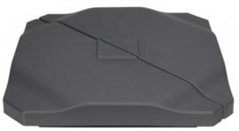 parasoltegel 50 x 50 cm 20 kg polypropyleen grijs