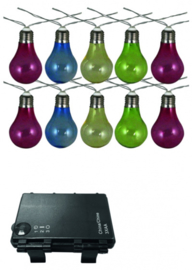 lichtlijn led-sfeerverlichting 10-lamps 300 cm