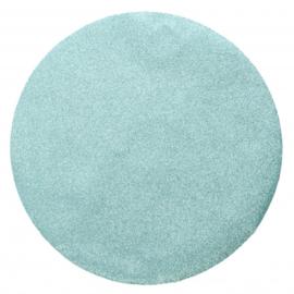 placemat glitter 38 cm polyester groen