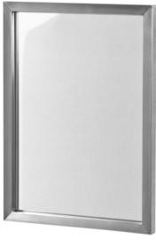 spiegel Senza 40 x 55 cm RVS zilver