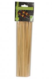 satéprikkers 25 cm bamboe blank 100 stuks