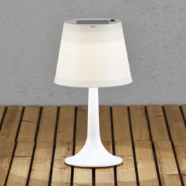 tafellamp solar 0,5W 30lm 36 x 19 cm wit