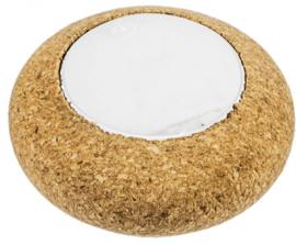 drijflicht led 4,6 x 2,4 cm kurk wit/bruin 3-delig