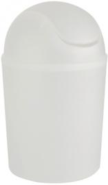 afvalemmer Arkits 4,5 liter polypropyleen matwit