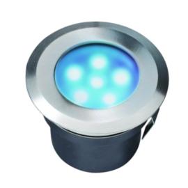 tuinspot Sirius 7 cm RVS SMD-led 1W 12V blauw