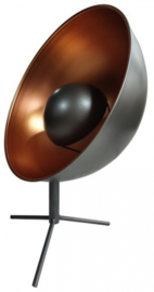 lampprojector Indus 30,5 x 42 cm staal grijs/brons