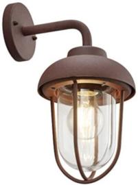 tuinverlichting Duero 33 cm aluminium/glas roestkleur