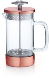 cafetière Core 350 ml 16 cm glas/RVS koper