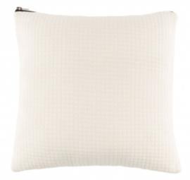 kussen Elle 45 x 45 cm polyester/nylon wit