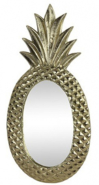 spiegel Leony 59 x 29 cm staal goud