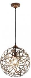 hanglamp Jacob 150 x 40 cm staal 1kg koper