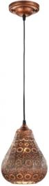 hanglamp Jasmin 150 x 19 cm staal 2 kg koper