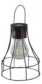 hanglamp Dortmund solar 13 x 16 cm staal koper