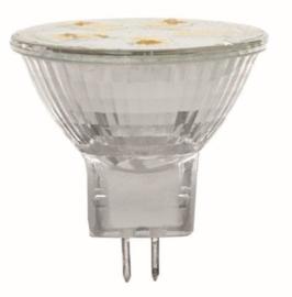 reflectorlamp LED 3,5 cm glas zilver 0,9 W