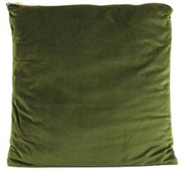 decoratiekussen Valerie 45 x 45 cm textiel groen