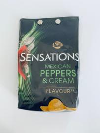 Lunchzak Sensations Mexican peppers & cream