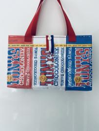 Handtas Tony's Chocolonely Rood-Wit-Blauw