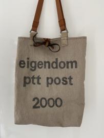 Tas Oude PTT Postzak