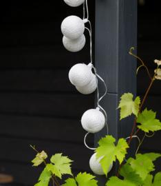 Out- en Indoor lichtslinger Cotton Ball Lights Plata