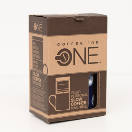 Koffiebeker- en zetter in één    Hollandsche Waaren