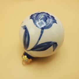 Kerstbal Delftsblauw