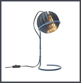 Atmosphere bureau-lamp Diep Blauw   Van Tjalle en Jasper