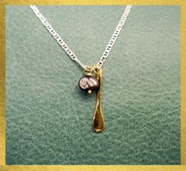 The Ocean Republic zilveren halsketting