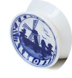Delftsblauw mokje Wit Hollandsche Waaren