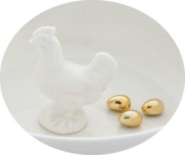 Schaal Kip met Gouden eieren