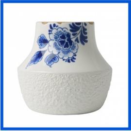 Delftsblauwe vaas Blauw Bloesem 2