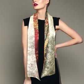 Zijden dames sjaal By Hendrik' Trees